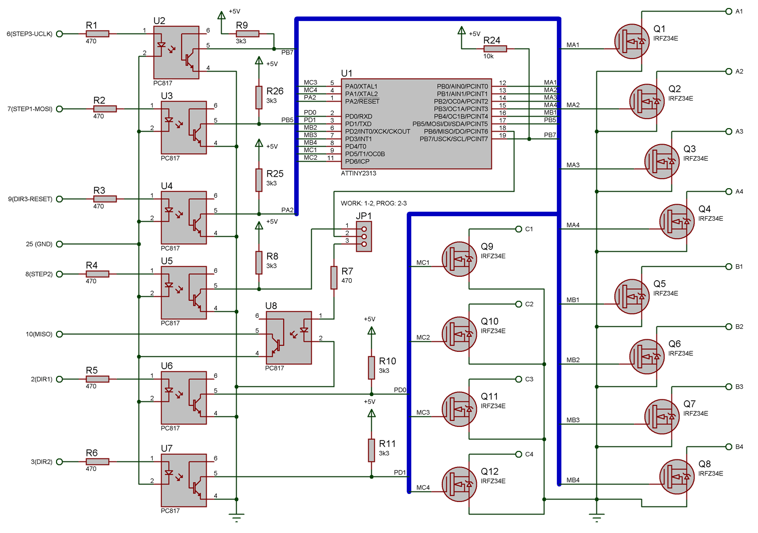 Tremendous Unipolar Cnc Wiring Diagram Wiring Diagram Database Wiring Digital Resources Remcakbiperorg