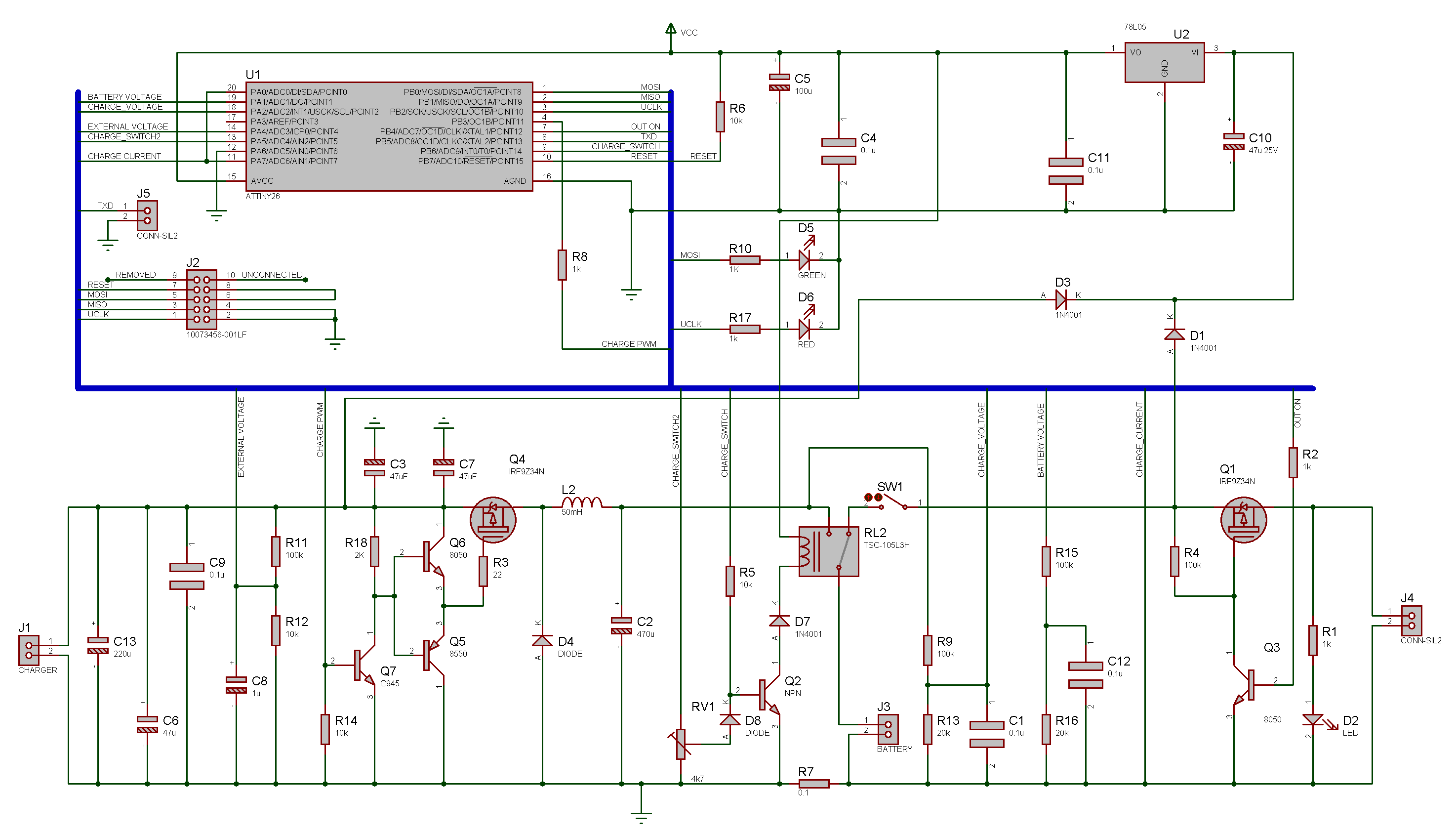 Roman Lut Roomba Pro Sla Battery Mod In Car Charger And Switcher Circuit For Charge Controller Schematics Click To See Larger Picture